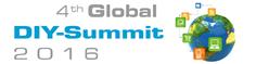 Logo 4th Global DIY Summit