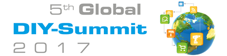 Logo 5th Global DIY Summit 2017