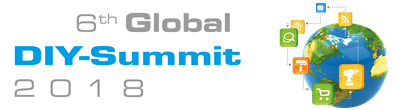 Logo 6th Global DIY Summit 2018