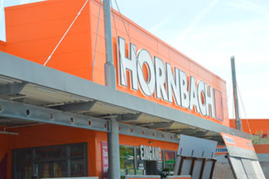 Hornbach stores increase sales by 21 per cent