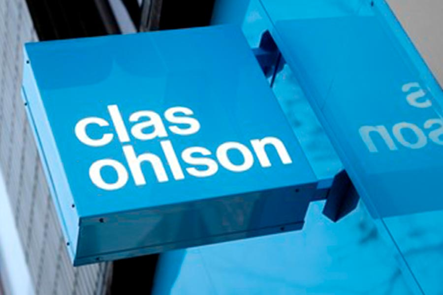Clas Ohlson's sales decrease by 5 per cent in fiscal 2020/2021