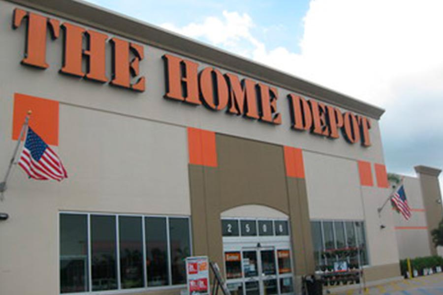Home Depot reports a 33 per cent increase of sales