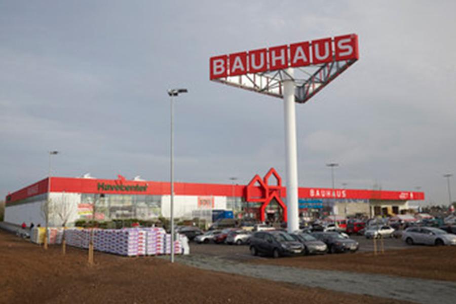 Bauhaus Scandinavia_ online shops and tills were temporarily closed