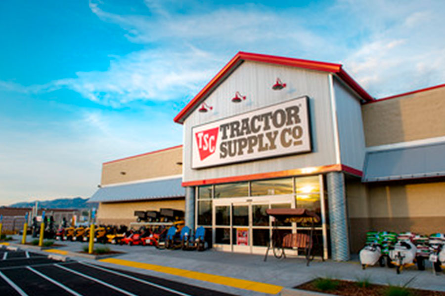 Tractor Supply's net sales increase by 13.4 per cent