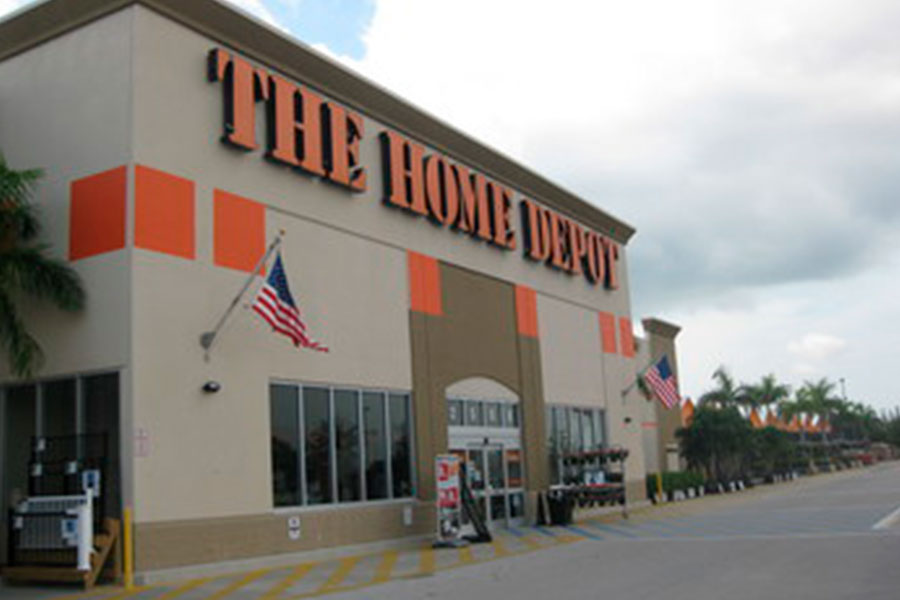 Home Depot's second-quarter growth in single digits again