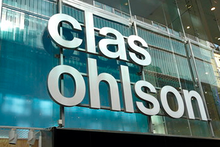 Clas Ohlson almost at previous year's level in first quarter